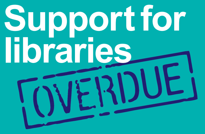 Support for libraries overdue